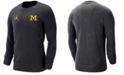 Jordan Men's Michigan Wolverines Crewneck Sweatshirt