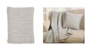 Saro Lifestyle Stitched Design Throw