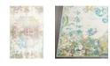 "Global Rug Designs Jano JAN02 Ivory 7'9"" x 10'2"" Area Rug"