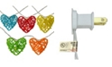 Northlight Battery Operated Valentine's Day Heart LED String lights