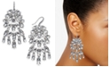 INC International Concepts INC Silver-Tone Crystal Chandelier Earrings, Created For Macy's