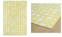 Kaleen Lily Liam LAL04-28 Yellow 5' x 7' Area Rug
