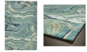 Kaleen Marble MBL03-91 Teal 2' x 3' Area Rug