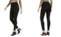Hue Women's Metallic Racer-Stripe Ponté-Knit Leggings