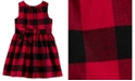 Carter's Toddler Girls Buffalo-Check Dress