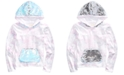 Belle Du Jour Big Girls Flip-Sequin Tie-Dyed Hoodie