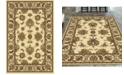 """KM Home CLOSEOUT! 1330/1211/IVORY Navelli Ivory 5'5"""" x 8'3"""" Area Rug"""