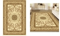 """KM Home CLOSEOUT! 1419/1312/IVORY Navelli Ivory 7'9"""" x 9'6"""" Area Rug"""