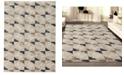 "KM Home CLOSEOUT! 3793/1000/BONE Imperia Ivory/ Cream 3'3"" x 4'11"" Area Rug"