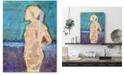 "Courtside Market William DeBilzan Blue 16""x20""x2"" Gallery-Wrapped Canvas Wall Art"