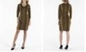 nanette Nanette Lepore Nanette Lepore V-Neck 3/4 Sleeve Shift Sweater Dress