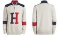 Tommy Hilfiger Big Boys Keith Colorblocked 1/4-Zip Logo Sweater