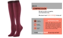 Hue Women's Graduated Compression Knee Socks