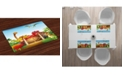 Ambesonne Dino Place Mats, Set of 4