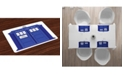 Ambesonne Police Place Mats, Set of 4