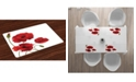 Ambesonne Floral Place Mats, Set of 4