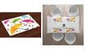 Ambesonne Colorful Place Mats, Set of 4