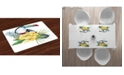 Ambesonne Tropical Animals Place Mats, Set of 4