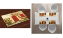 Ambesonne Shutters Place Mats, Set of 4
