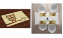 Ambesonne Owl Place Mats, Set of 4