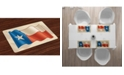 Ambesonne Texas Star Place Mats, Set of 4