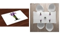 Ambesonne Letter I Place Mats, Set of 4