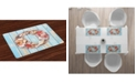 Ambesonne Letter O Place Mats, Set of 4
