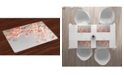 Ambesonne Peach Place Mats, Set of 4