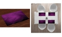 Ambesonne Eggplant Place Mats, Set of 4