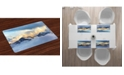 Ambesonne Europe Place Mats, Set of 4