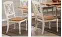 ICONIC FURNITURE Company Butterfly Back Dining Chairs, Set of 2