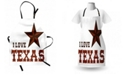 Ambesonne Texas Star Apron