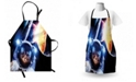 Ambesonne Space Cat Apron