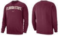 Nike Men's Florida State Seminoles Club Fleece Crewneck Sweatshirt