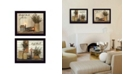 """Trendy Decor 4U Blessed Gathering Collection By Susan Boyer, Printed Wall Art, Ready to hang, Black Frame, 26"""" x 20"""""""