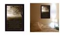 "Trendy Decor 4U Life is By Dee Dee, Printed Wall Art, Ready to hang, Black Frame, 14"" x 10"""