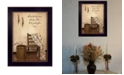 """Trendy Decor 4U These Three Remain By SUSAn Boyer, Printed Wall Art, Ready to hang, Black Frame, 14"""" x 10"""""""