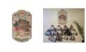"Trendy Decor 4U Welcome Sign, Baskets Porch Decor, Resin Slate Plaque, Ready to hang Decor, 13"" x 7.75"""