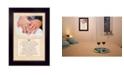 "Trendy Decor 4U Trendy Decor 4U Love is Kind By Justin Spivey, Printed Wall Art, Ready to hang, Black Frame, 14"" x 10"""
