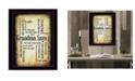 "Trendy Decor 4U Grandma Says By Susan Boyle, Printed Wall Art, Ready to hang, Black Frame, 14"" x 20"""