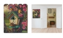 "Trendy Decor 4U Trendy Decor 4U Springtime Beauty by Kim Norlien, Printed Wall Art on a Wood Picket Fence, 16"" x 20"""