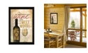 """Trendy Decor 4U Wine and Sweet Words By Marla Rae, Printed Wall Art, Ready to hang, Black Frame, 14"""" x 20"""""""