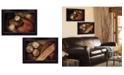 "Trendy Decor 4U Baseball Collection By Robin-Lee Vieira, Printed Wall Art, Ready to hang, Black Frame, 20"" x 14"""