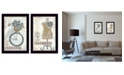 """Trendy Decor 4U Beautiful Journey Collection By Annie LaPoint, Printed Wall Art, Ready to hang, Black Frame, 28"""" x 20"""""""