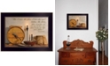 """Trendy Decor 4U The Plans I Have For You by Billy Jacobs, Ready to hang Framed Print, Black Frame, 18"""" x 14"""""""