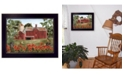 "Trendy Decor 4U Trendy Decor 4U Summer Days By Billy Jacobs, Printed Wall Art, Ready to hang, Black Frame, 18"" x 14"""