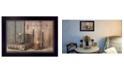 """Trendy Decor 4U Let your Light Shine By Billy Jacobs, Printed Wall Art, Ready to hang, Black Frame, 14"""" x 10"""""""