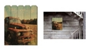 """Trendy Decor 4U Trendy Decor 4U Welcome to the Country by Anthony Smith, Printed Wall Art on a Wood Picket Fence, 16"""" x 20"""""""