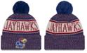 New Era Kansas Jayhawks Sport Knit Hat