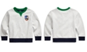 Polo Ralph Lauren Little Boys Downhill Skier Cotton-Blend Ponte Pullover